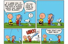 'Peanuts: Happiness is Warm Blanket': The First Post-Charles Schulz Peanuts Comics [Preview]