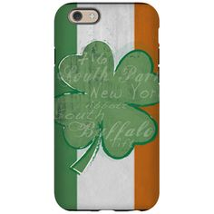 South Buffalo Irish iPhone Case iPhone 6 Tough Cas