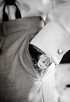 DO go for old school class-suspenders are fine, and DO match your watch to your cufflinks as far as metal tone.