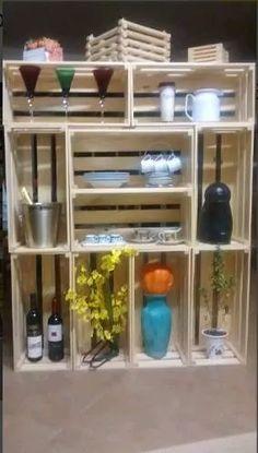 caixote de feira, decoração, artesanato, madeira, oferta 002