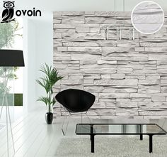 Background Modern Vintage Gray Faux Brick Wallpaper Retro Effect Stack Stone Wall Grey Stone Brick Wallpaper Wallcovering Brick Wallpaper Vintage, Grey Kitchen Wallpaper, Textured Brick Wallpaper, Brick Wall Wallpaper, Accent Wallpaper, Modern Wallpaper, Vintage Walls, Wallpaper Roll, Wallpaper Ideas
