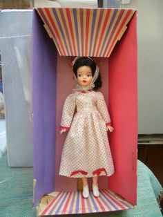 Vintage Boxed Reliable Of Canada Black Haired Sindy Doll - Like Pedigree, Tammy 90.88+6.5