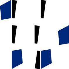 Black and Blue (tiles). Ligia de Medeiros. 2013.