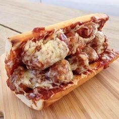 Sandwich de albóndigas | Inutilisimas