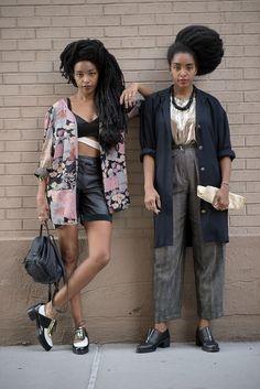 Black Culture, primary-elements:  Cipriana Quann & TK Quann (aka...