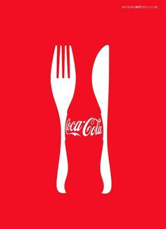 This Coca Cola advertising image shows the gestalt principle by using t. This Coca Cola advertising image shows the gestalt princi Creative Advertising, Ads Creative, Advertising Design, Advertising Ideas, Creative Director, Advertisement Examples, Art Director, Creative Design, Café Design