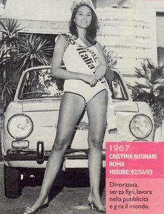 Miss Italia 1967 - Cristina Businari