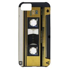 iPhone 5 Cassette Tape Old School Retro Cover For iPhone 5C