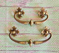 Vintage Keeler Brass Bail & 2 Size Options by SalvageArtsCreations