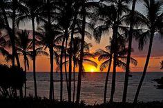 Sunset on the Kohala Coast 1, Big Island, Hawaii