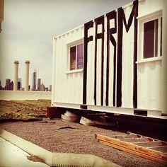 BROOKLYN GRANGE FARM: la granja en tejado más grande del mundo  #Sustentable Brooklyn, Ny Map, Animal Print Rug, Stairs, Home Decor, World, Sustainable Architecture, Farmhouse, Stairway