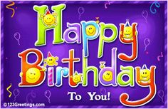 On your birthday, I would like to give you some words of wisdom . . . . . . . Smile while you still have teeth. Many many happy returns of the day.
