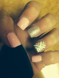 My nails after going to solar nails