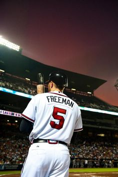 Freddie freeman..no longer our litttle rookie but this man is on his way to becoming a legend in the world of MLB.