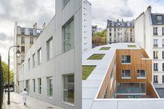 Résidence Planchette, AZC Architects, Paris, 2015