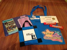 End of the year/5th grade graduation gift bag