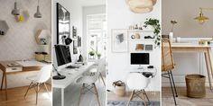 Una estación de trabajo es lo que necesitas en estos momentos en casa mientras pasa el aislamiento. Aquí hay algunos consejos e imágenes que te ayudarán. A Frame House, Bathroom Closet, Closet Designs, Office Desk, Stylus, Space, Projects, Ideas, Inspiration