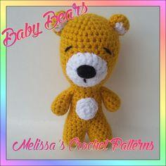 Crocheting : Baby Bears
