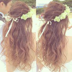 いいね!412件、コメント5件 ― Kumiko Saekiさん(@kumiko_makeup_hi)のInstagramアカウント: 「ドライな質感はハワイらしくて好きです! #kumikoprecious #hawaii #hawaiiwedding #wedding #weddinghair #bride #hairstyle…」