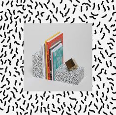 Bacteria Book Ends #design #vector #graphic #illustrator #pattern #fabric #creative #apparel #graphics #eps #camo #Camouflage #repeat #textile #surf #illustration #graphicdesign #art #creative #style #color #collage #decor #shirt #articlereform #Article_Reform #HomeDecor