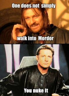 If you go to mordor you will die