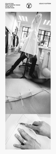 A behind the scenes look at the savoir-faire behind the Louis Vuitton Women's Fall 2014 Collection, now available in stores and http://www.louisvuitton.com.