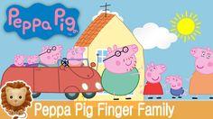 Peppa Pig Finger Family Nursery Rhymes. Peppa Pig Finger Family cartoon ...
