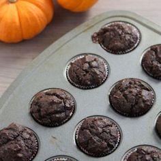 Chocolate Pumpkin Muffins!