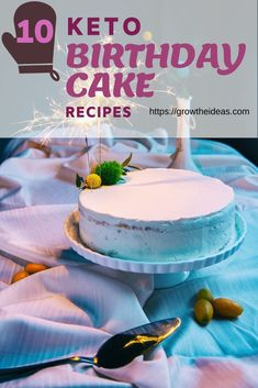 These are 10 Keto Birthday Cake Recipes. Not only is this healthier but will also work for those on the keto diet. You get your fix of dessert without the guilt! How can I drop 20 pounds fast? Keto Friendly Desserts, Low Carb Desserts, Low Carb Recipes, Dessert Recipes, Banting Recipes, Frozen Desserts, Diabetic Recipes, Healthy Desserts, Lunch Recipes