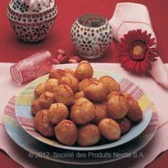 Saudi Sweet Dough Balls - Al Lugaimat - use full fat milk (scalded and cooled)