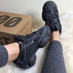 a400fa6aacb adidas YEEZY 500 Utility Black - Sneakers - SportStylist