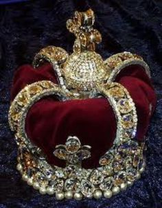 Crown - part of the British Crown Jewels.
