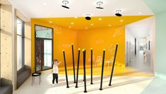 MODERN INTERIOR IN KINDERGARTEN Modern Interior, Kindergarten, Room, Furniture, Home Decor, Bedroom, Decoration Home, Room Decor, Modern Interiors