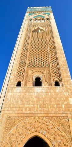 TOURING EXOTIC #CASABLANCA, #MOROCCO | The Hassan II Mosque | www.AfterOrangeCounty.com