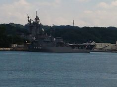 PM 自衛隊のお船も待機中