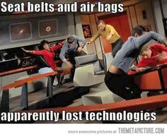 Seat belts and air bags. We won't need them in the future..or willl we?