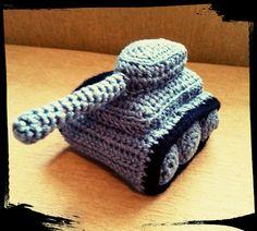 háčkovaný tank