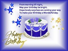Wishes for My Son | Special Birthday Wish For A Dear One. Free Specials eCards | 123 ...