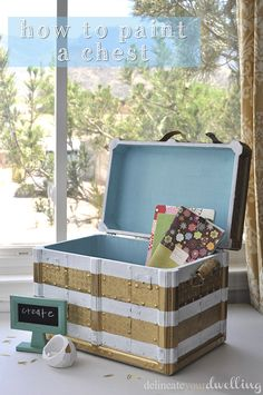 Delineate Your Dwelling: How to paint a chest