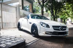 Mercedes-Benz SLK #windscreen http://www.backblade.net/