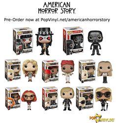 American Horror Story POP! Vinyl Figures Announced - Visit http://popvinyl.net/pop-vinyl-news/american-horror-story-pop-vinyl-figures-announced/ for more information -All the want