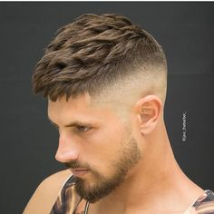 Check out ✔@MensHairs and choose your hairstyle By: ✂@javi thebarber