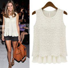 Encontrar Más Blusas y Camisas Información acerca de S   XL Plus Size camisa de…