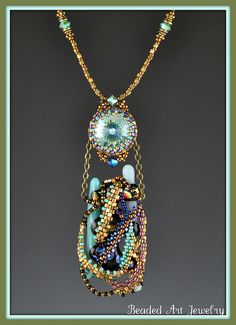 Robin 004 by Beaded Art Jewelry, via Flickr