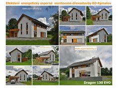 Dragon 130,  Energeticky úsporné mohou být také zděné novostavby, avšak stěny musí být izolované a při zachování stejných parametrů izolace je zděná stěna podstatně širší. Při stejné zastavěné ploše tak přicházíte o hodně místa na úkor silným stěnám. U zděného domu trvá delší dobu, než dosáhnete požadované teploty v bytě, zdi totiž teplo pohlcují. Výhodou ale je, že i po vypnutí topení ze sebe vydávají naakumulované teplo.