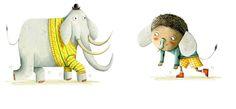 Holly Clifton-Brown Kid Character, Illustrators, Dinosaur Stuffed Animal, Elephant, Chen, Brown, Kids, Baby Boy, France