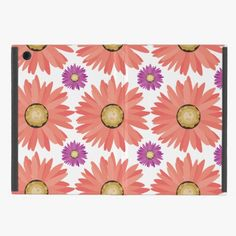 Awesome! This Pink Purple Gerber Daisy Flowers Floral Pattern Covers For iPad Mini is completely customizable and ready to be personalized or purchased as is. It's a perfect gift for you or your friends.