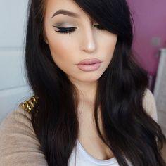 Makeup is flawless. Lashes on point. #ESQIDO Lashmopolitan mink lashes.