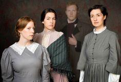 We Are Three Sisters features (left to right) Victoria Lyons, MariaLuisa Alvarez, Gordon Navaratil, and Olesia Shewchuk.