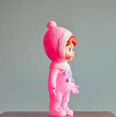 Image of Pink Woodland Doll - http://lapinandme.bigcartel.com/products